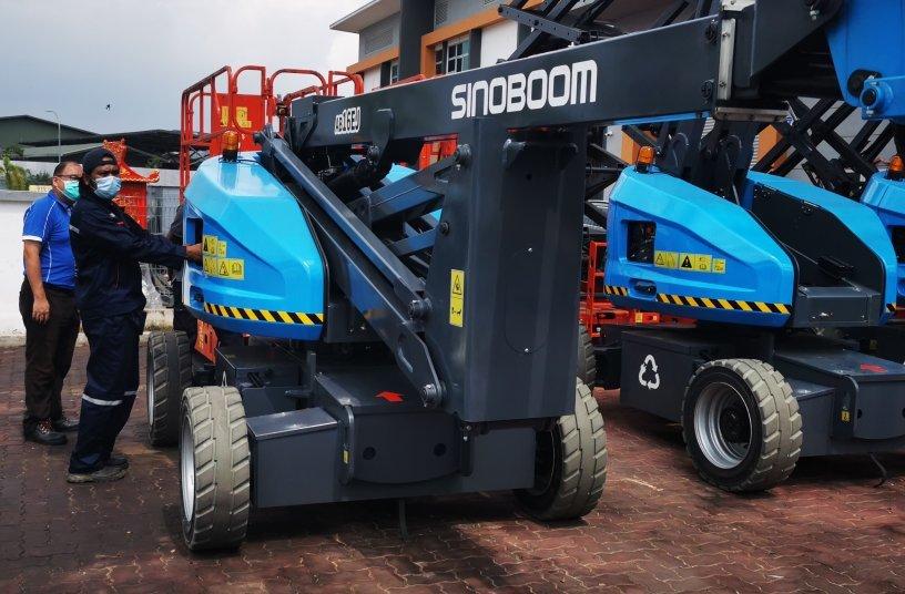 Sinoboom at Schmetterling<br>SOURCE: Sinoboom Intelligent Equipment