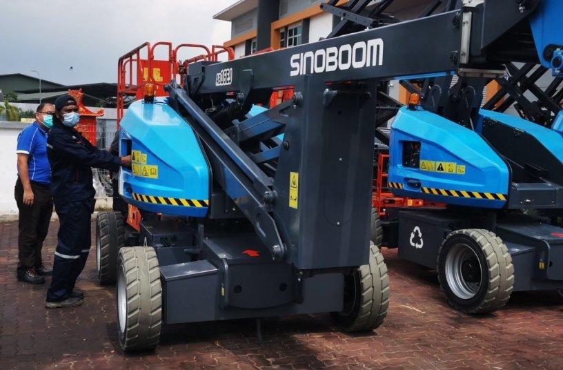 Sinoboom at Schmetterling <br>Image source: Sinoboom Intelligent Equipment </br>