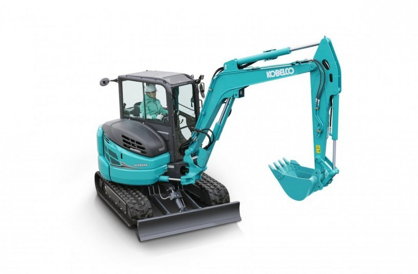The new Kobelco SK58SRX-7 is designed for sustained high performance in excavation and attachment operation. <br>Image source: Kobelco Construction Machinery Europe B.V.