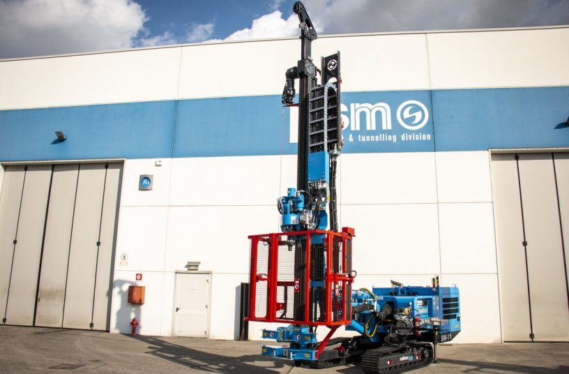 New Soilmec SM-11 <br>Image source: TREVI - Finanziaria Industriale S.p.A.</br>