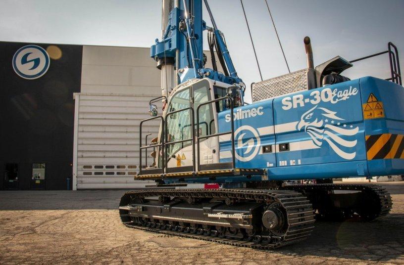 Soilmec SR 30 Eagle <br>Image source: TREVI - Finanziaria Industriale S.p.A. </br>
