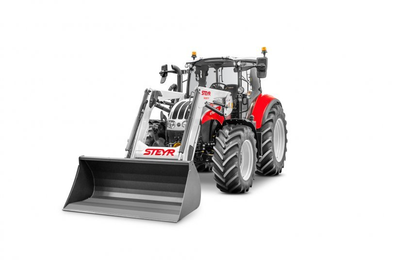 STEYR New Front Loader S3917T and 4120 Multi <br> Image source: CNH Industrial N.V. Corporate Office; STEYR