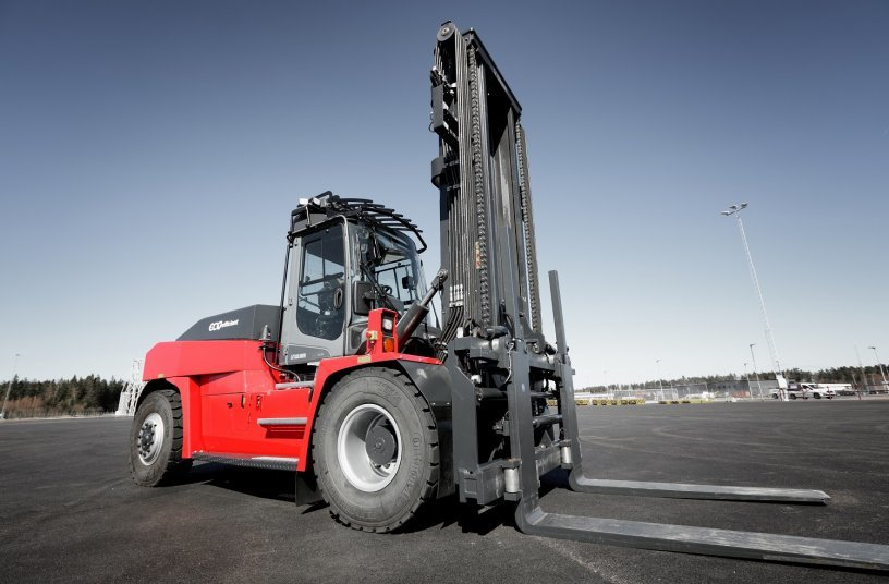 Kalmar Medium Electric Forklift <br> Image source: Kalmar