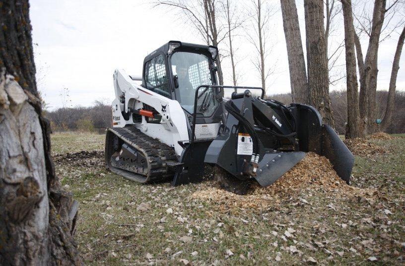 Bobcat T770 Stump Grinder <br> Image source: Doosan Bobcat  EMEA PR