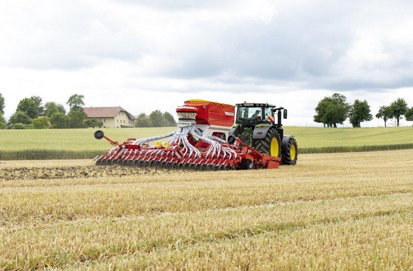 TERRASEM 6000 V is the all rounder for all situations <br> Image source: PÖTTINGER Landtechnik GmbH