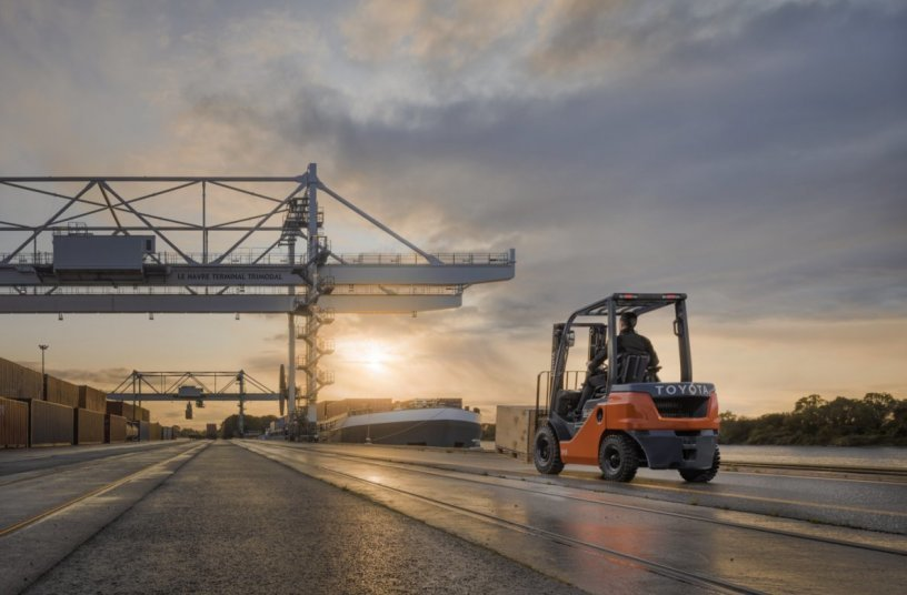 Toyota Tonero Stage V <br>Image source: Toyota Material Handling Europe