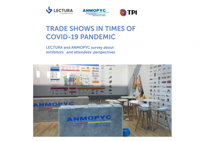 Trade Shows in Times of Covid-19 Pandemic<br>IMAGE SOURCE: LECTURA GmbH