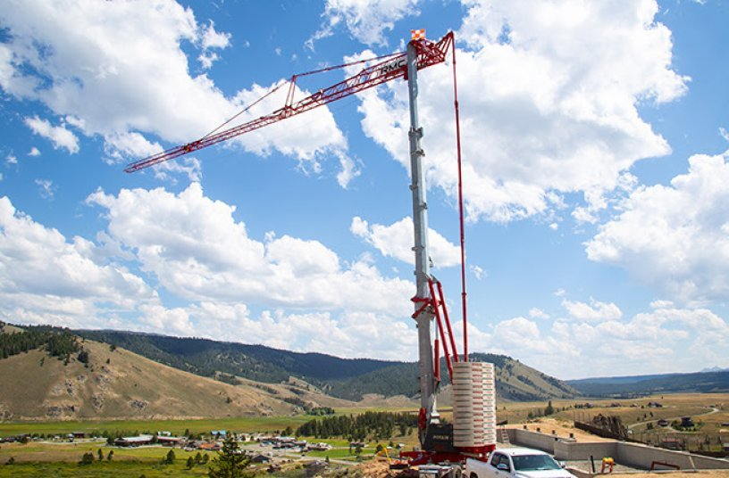 Homebuilding: U.S. contractors reap benefits with Potain self-erecting tower cranes