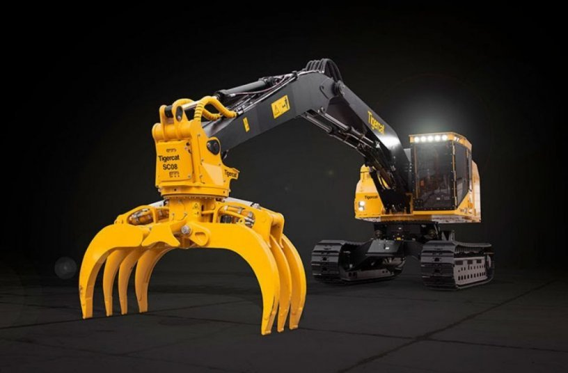 Tigercat Releases the LSX870D Shovel Logger <br>Image source: Tigercat Industries Inc.
