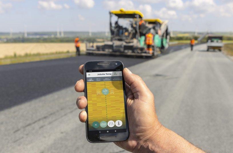 Vögele expands digital road construction solutions