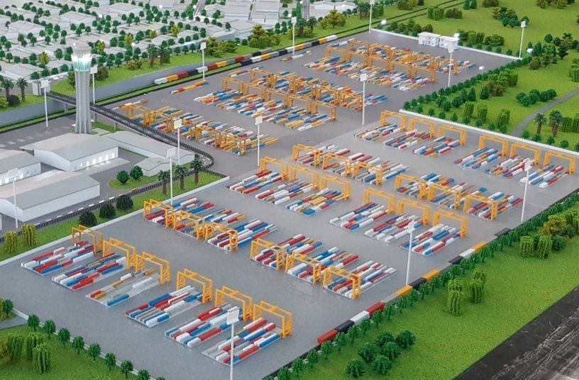 Vientiane Logistics Park's new Dry Port in Laos
