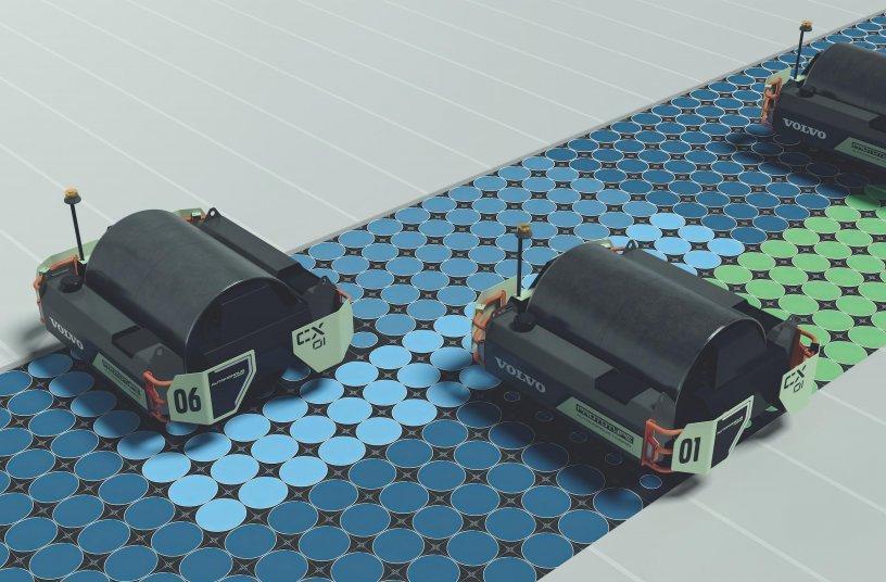 Volvo CE Unveils CX01 Single-Drum Asphalt Compactor Concept at The Utility Expo<br>IMAGE SOURCE: Volvo Construction Equipment