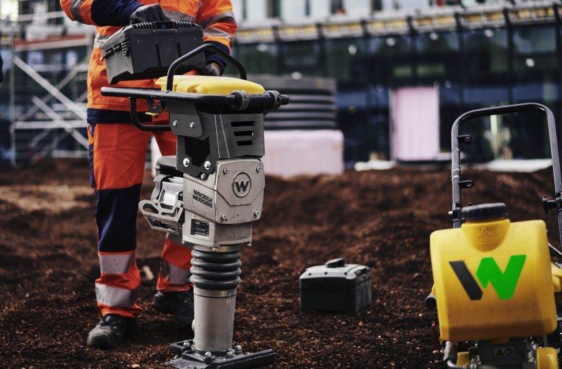 Wacker Neuson AP1850e & AS60e <br> Image source: Wacker Neuson SE