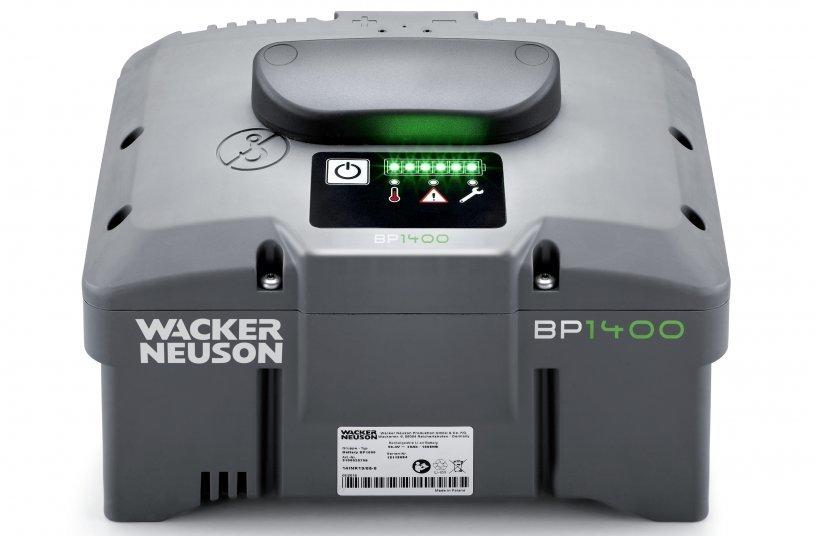 Wacker Neuson Battery BP1400 (Image source: Wacker Neuson SE)