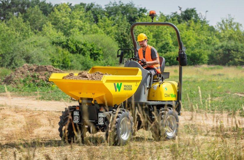 Wacker Neuson DW15e <br> Bildquelle: Wacker Neuson SE