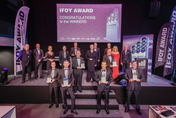The IFOY AWARD 2021 was awarded to the winners in six categories.