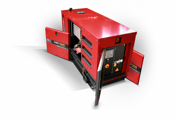 Generators for stationary applications are now also available with emission compliant engines
