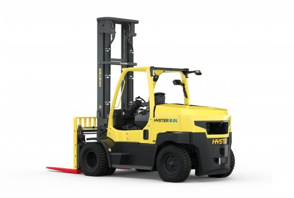 Hyster 8.0L (Image source: Hyster Europe)