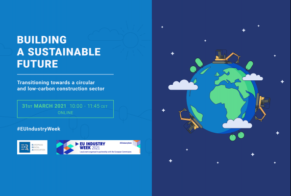 Join the ERA event 'Building a sustainable future – Transitioning towards a circular and low-carbon construction sector'