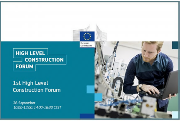 CECE Secretary General presents DigiPLACE perspectives during the High Level Construction Forum