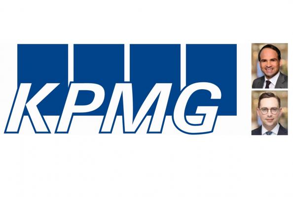 KPMG: Bernd Oppold, Partner KPMG and Maximilian Eberle, Manager KPMG