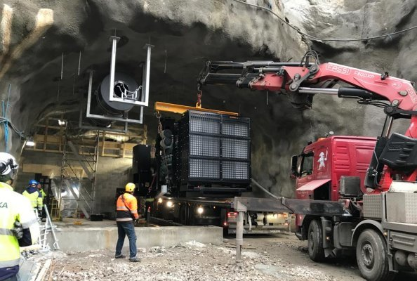 1.8 MW of emergency power for one of the largest tunnels in Finland