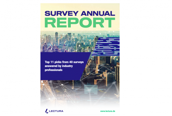 Survey Annual Report by LECTURA