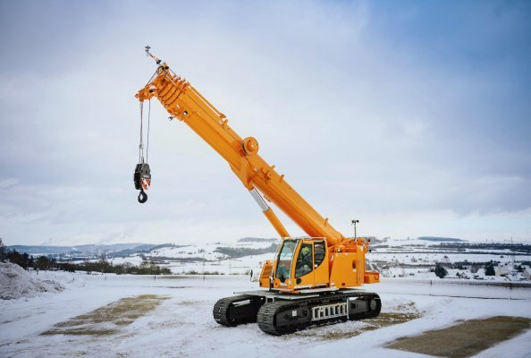 The LTR 1040 telescopic crawler crane has been added to the LTR series.