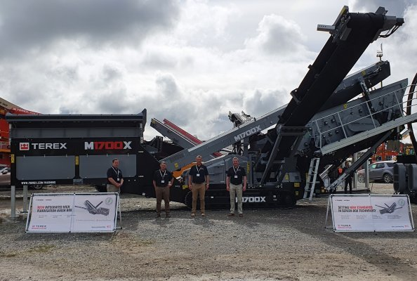 Terex Washing Systems Launch M1700X at Ireland's CQMS