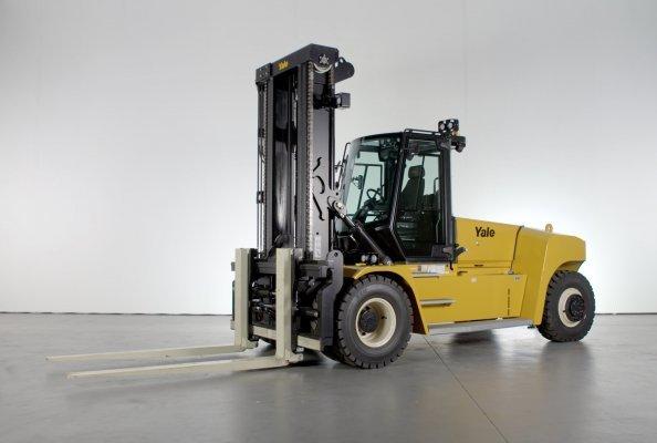 New cab high capacity Yale trucks