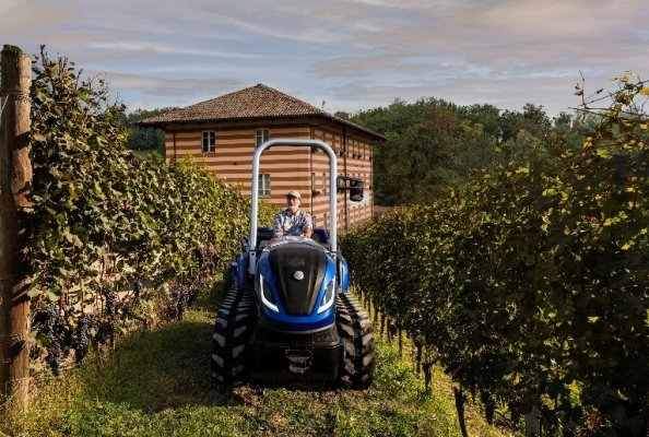 FPT Industrial and Fontanafredda join forces for the world's first zero emissions Barolo wine vintage