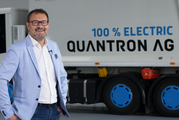 Michael Perschke, CEO and Member of the Board of Quantron AG since September 2021