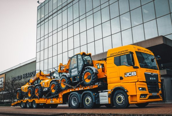 Ready for shipment-UK hirer Ardent has placed a £26 million order for JCB machines