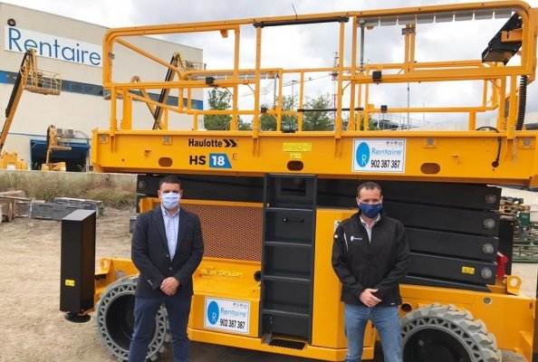 Rentaire further expands its fleet with Haulotte machinesretaire