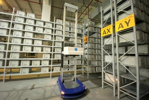 SF-DHL Apparel warehouse in Shanghai