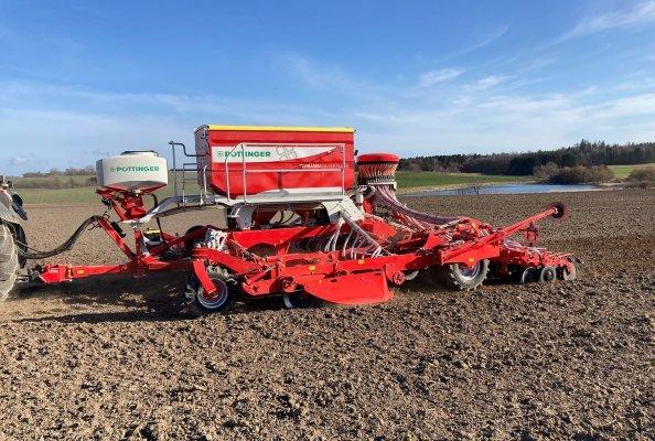 Resource-saving sowing, TERRASEM C6 FERTILIZER with TEGOSEM 500