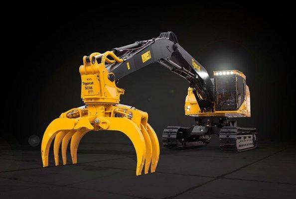 Tigercat Releases LSX870D Shovel Logger