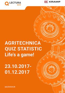 Agritechnica Quiz 2017 statistics
