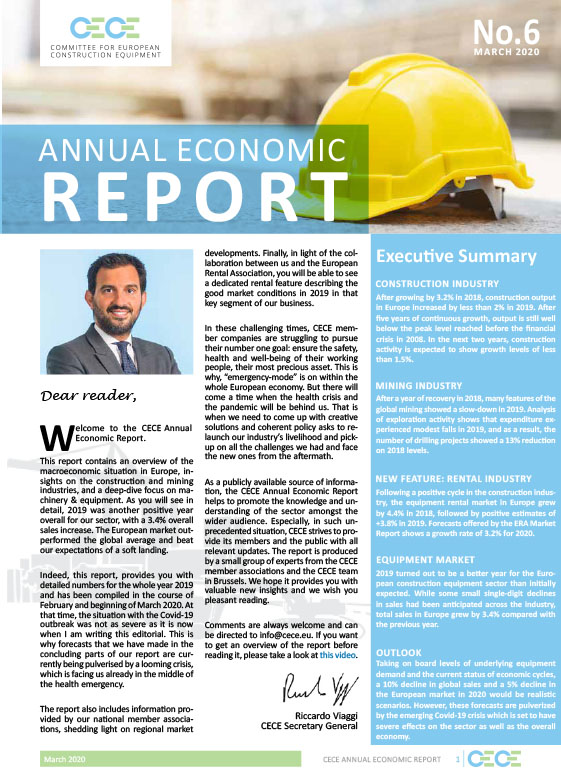 CECE Annual Economic Report 2020