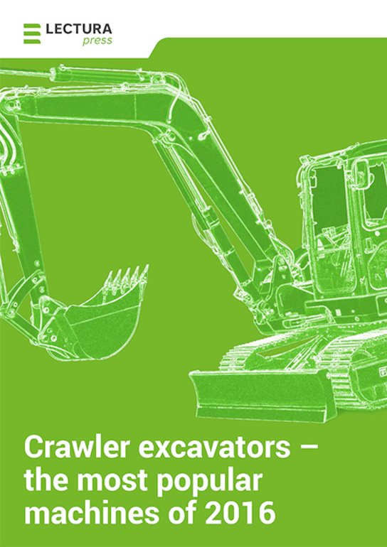 Crawler excavators – the most popular machines of 2016