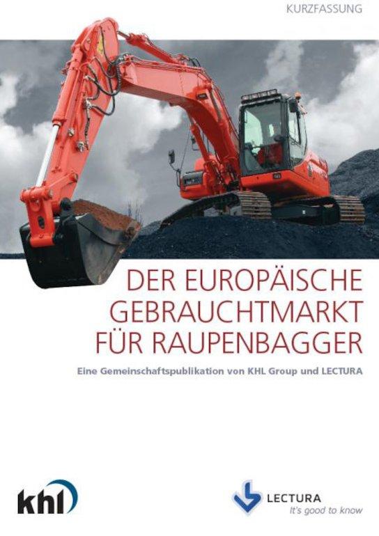 Der Europäische Gebrauchtmarkt für Raupenbagger - Deutsche Version