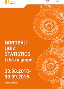 NordBau Quiz 2016 statistics